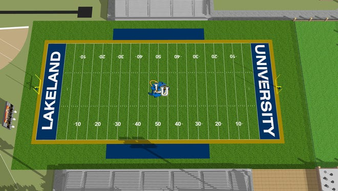Lakeland University plans to build a $2.8 million sports complex.