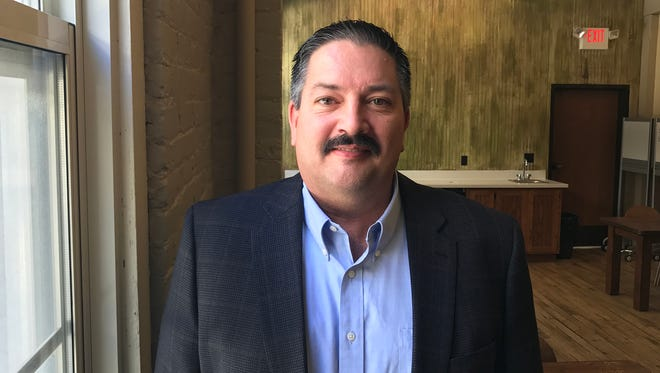 Democrat Randy Bryce is challenging Republican House Speaker Paul Ryan's bid for re-election in November.