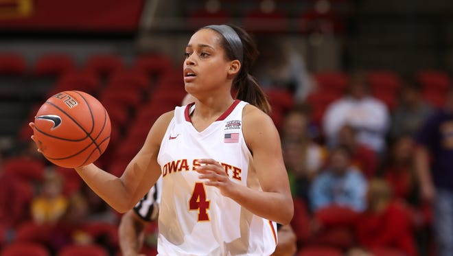 Iowa State's Nikki Moody is serving an indefinite suspension from the Cyclones' women's basketball team.