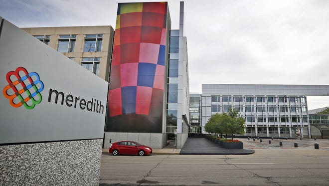 The Meredith Corp. headquarters in Des Moines.