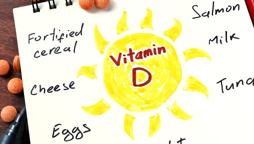 Get your Vitamin D this winter by spending some time outdoors.