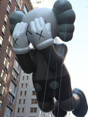 "This piece, called ""Companion"" by KAWS in 2012, was the sixth in the Blue Sky Gallery Series."