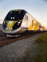 All Aboard Florida's first Brightline train leaves