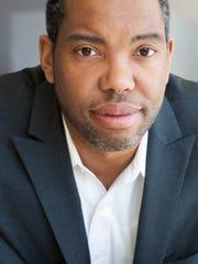 Author Ta-Nehisi Coates.
