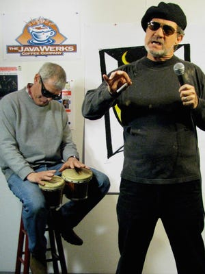 Paul VanZandt will reprise his Nick Beat character for a goodbye performance at May's Back Door Coffeehouse.