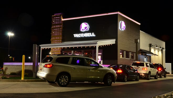 A remodeled Taco Bell on Velp Avenue will look similar to this when construction is completed later this summer.