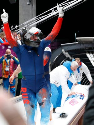 Alexander Zubkov piloted Russia-1 to gold in the two-man, and he is favored to win the four-man.