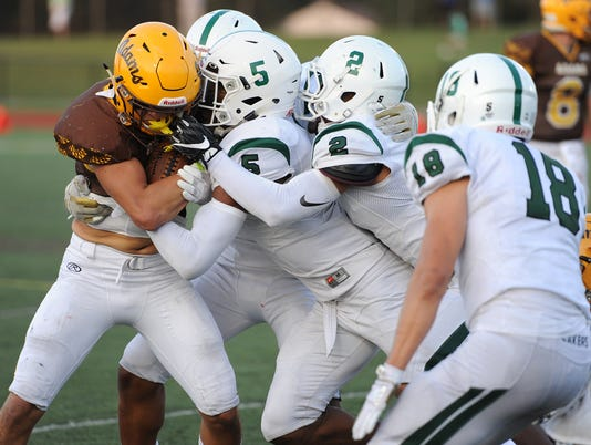 Prep Football, West Bloomfield at Rochester Adams