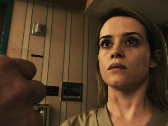 """Claire Foy isn't sure what to believe in """"Unsane."""""""