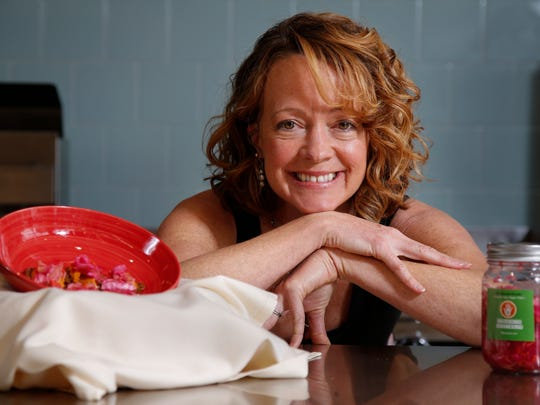 Tiffany Wise, of The Healing Kitchen, pictured, Wednesday,