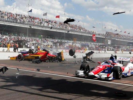 APTOPIX IndyCar Indianapolis Auto Racing