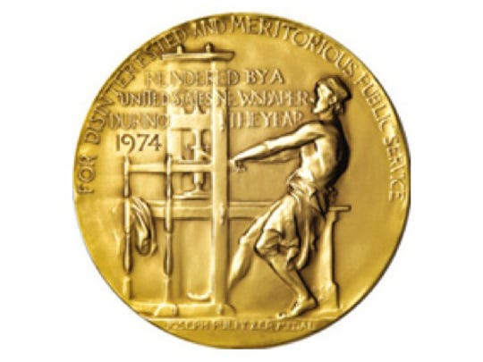 Pulitzer Administrator Dana Canedy announced the 2019 Pulitzer Prizes at Columbia University's School of Journalism on Monday, April 15.