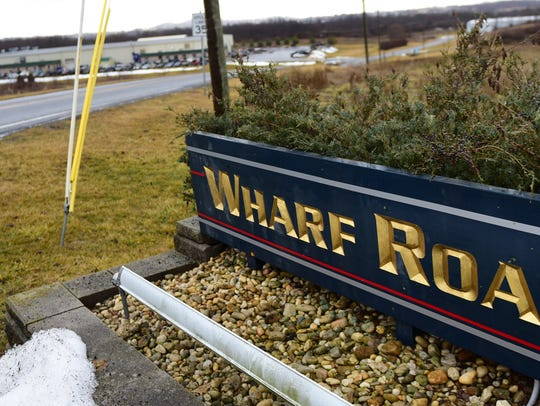 Wharf Road Industrial Park, photographed Wednesday,