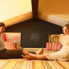 """Mark Duplass and Elisabeth Moss star in a scene from """"The One I Love."""""""