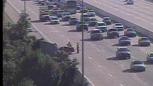 I-65 south traffic crawling due to crash in Davidson Coutny
