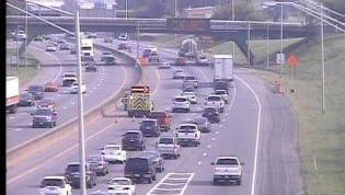 The crash on I-65 north has traffic crawling.
