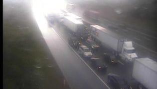 I-40 crash in Davidson County