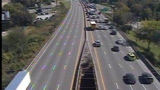 I-40 west crash