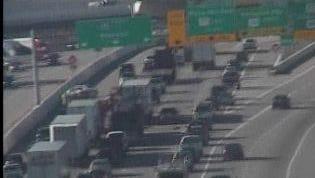 I-65 southbound crash near Old Hickory Boulevard