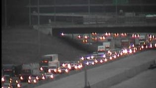 A crash on I-65 south is causing delays east of Briley Parkway Wednesday, Jan. 27.