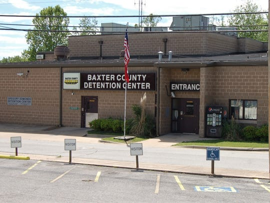 The 100-bed Baxter County Detention Center has averaged