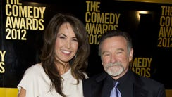 Robin Williams, shown here with his wife Susan Schneider