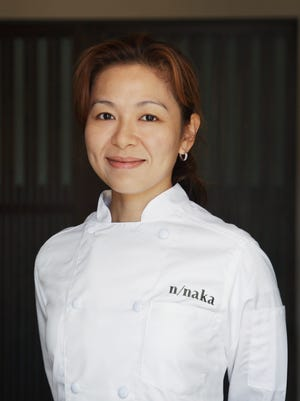 Niki Nakayama is chef at her restaurant, n/naka, in Los Angeles.