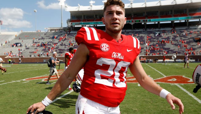 Shea Patterson threw for 3,139 yards, 23 touchdowns and 12 interceptions in 10 career games at Ole Miss.