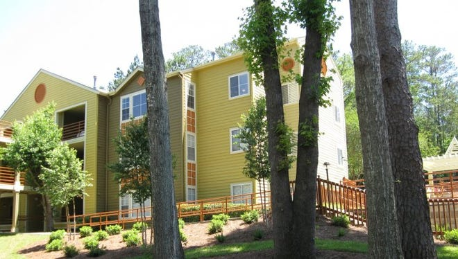 Osceola Ridge on Ocala Road was one of the apartment complexes included in the deal.