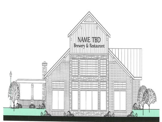 If the hotel is approved, this proposed brew pub restaurant and retail shop could be built next to it, near the Door County Maritime Museum on the city's west side.