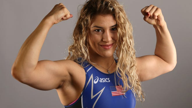 Marquette's Helen Maroulis is among the favorites to win a medal in freestyle wrestling.