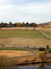 Washoe County closed the dog park at Rancho San Rafael because of the drought.