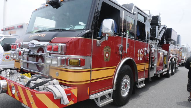 A Salisbury Fire Department firetruck is shown in this file photo