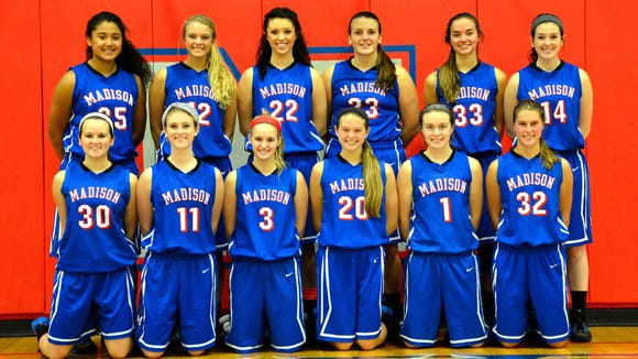 Madison's girls basketball team will soon be playing