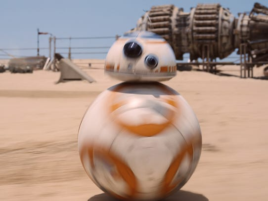 BB-8 is among the latest 'Star Wars' characters being