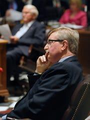 Senate Minority Leader Gary Simpson, R-Milford, opposes increasing the minimum wage.
