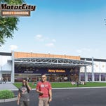 A rendering of future Motor City Harley-Davidson that is going into a former Sam's Club in Farmington Hills
