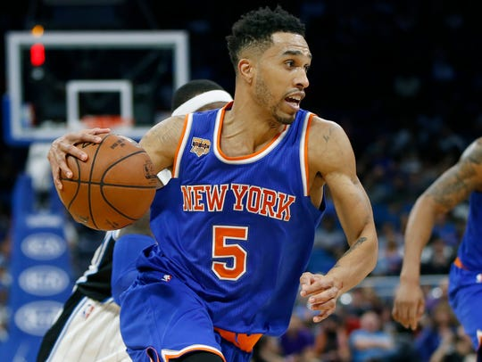 Knicks guard Courtney Lee.