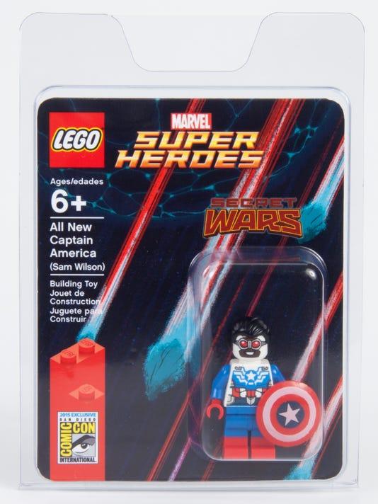 LEGO Cap package