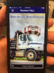 The city of Florence has a new Florence Y'All app for news and events and to give real-time feedback to city workers about potholes and more.
