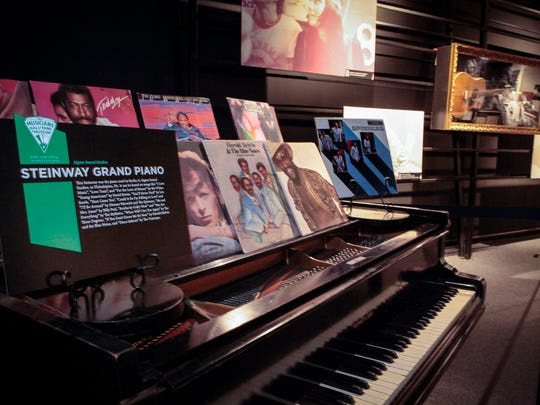 This Steinway piano was used in Studio A, Sigma Sounds, in Philadelphia. It can be heard on recordings by The O'Jays, David Bowie, Lou Rawls, and Dionne Warwick.