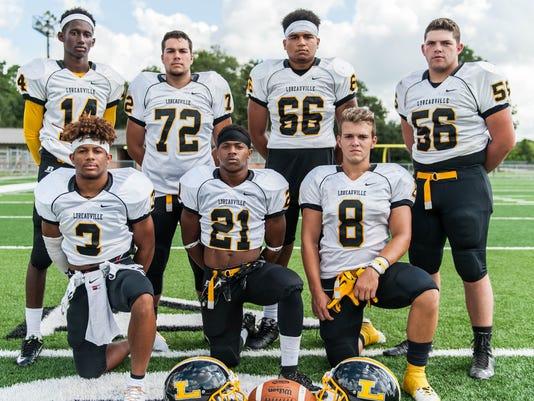 Loreuville High Schooll Football Team                        August 2 2016