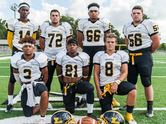 The Tigers' offense is led by freshman starting quarterback Zy Alexander (14) and his top target Bryson Broussard (8). Running backs Shae Lee (21) and Brennan Williams (3) will be running behind an experienced offensive line, anchored by Tyrin Nora (66) Kameron Broussard (56) and Chase Clifton (72).