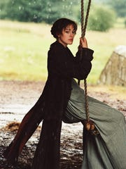 "Keira Knightley as Elizabeth Bennett in the 2005 film adaptation of Jane Austen's ""Pride and Prejudice"""