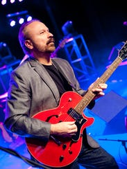 Guitarist Daryl Stuermer of Genesis/Phil Collins fame.