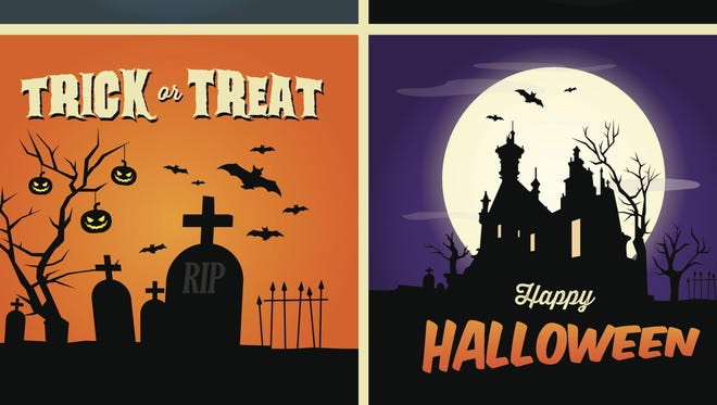Retailers put Halloween-related merchandise out now because, well, people buy it.