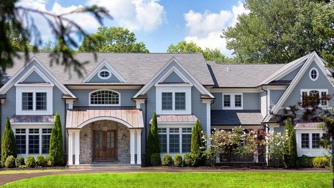 This custom home in Boonton Township built and formerly occupied by singer Kevin Jonas and his family was re-listed last week for $2.35 million.
