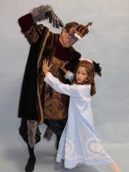 Bob Diven, as the Rat King, and Chaley Cartwright as