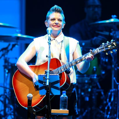 It was a Green Bay first when the Dixie Chicks played