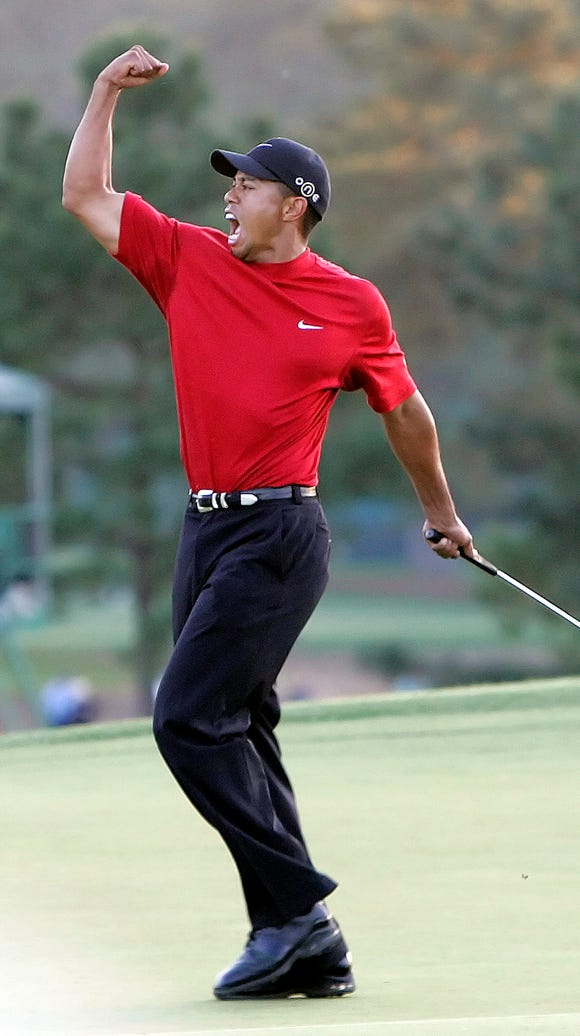 2005: Tiger Woods (fourth win).